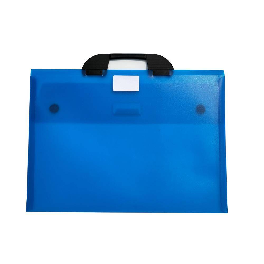 High Quality for A4 Size Fireproof Document Bag - PP Portable File Bag Plastic Document Box With Handle/Clear Briefcase – Ruiyinxiang