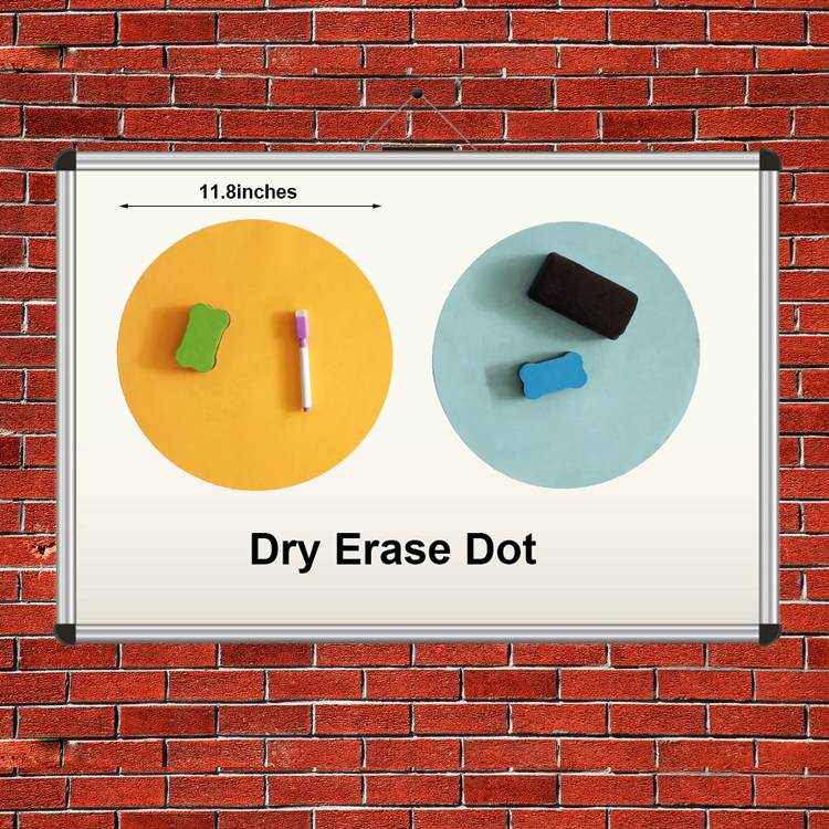 100% Original Waterproof DuPont Paper Bag - Colorful Dry Erase Circles White Board Marker Removable Vinyl Dot Wall Decal for Drills and Training School Teaching Progress – Ruiyinxiang
