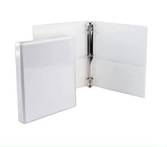 Hot-selling Ring Binder Mechanism - 2 inches durable vinyl plastic 3 O ring shape loose-leaf file binder with transparent pocket – Ruiyinxiang