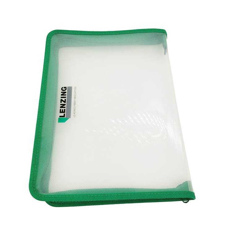 Low MOQ for PVC File Bag - Custom Durable A4 Transparent Clear Classic Multi-Functional Big Document Pouch Case Holder Folder for Filing Organizer – Ruiyinxiang