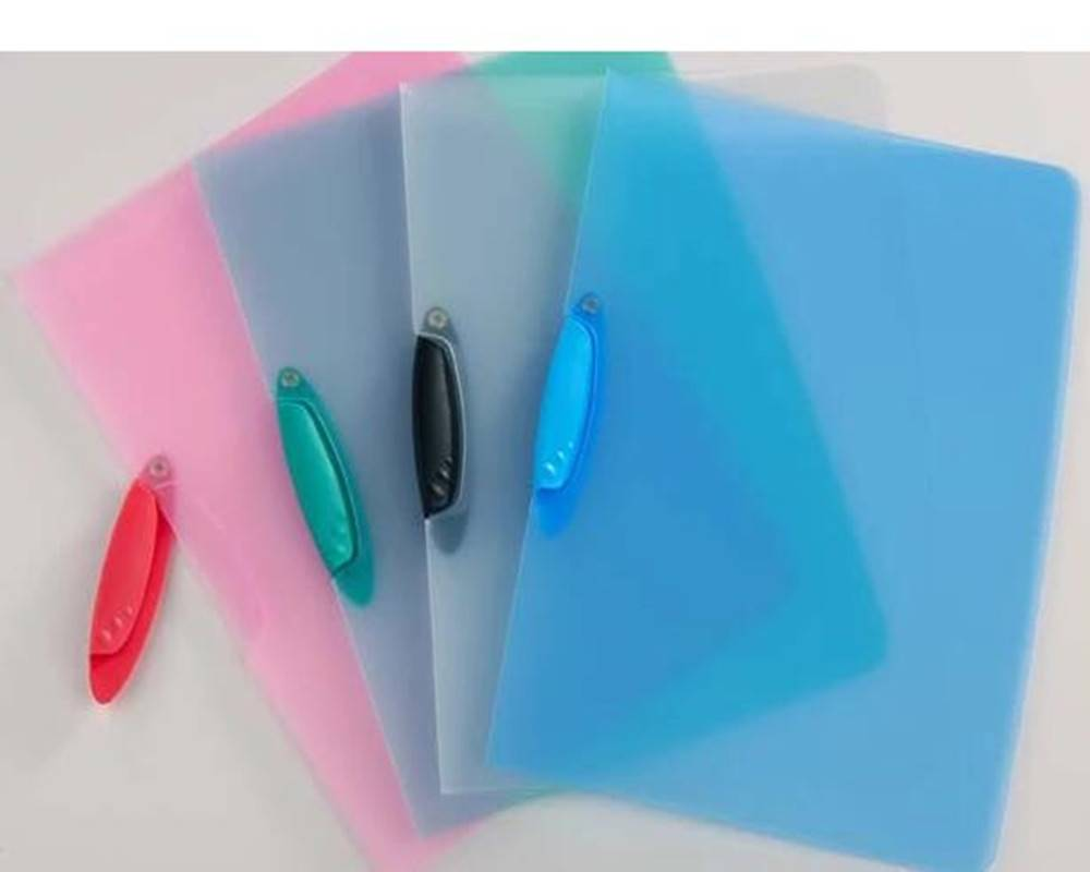 Colorful A4 report file with knife shape folder for office/school stationery RYX-KF006