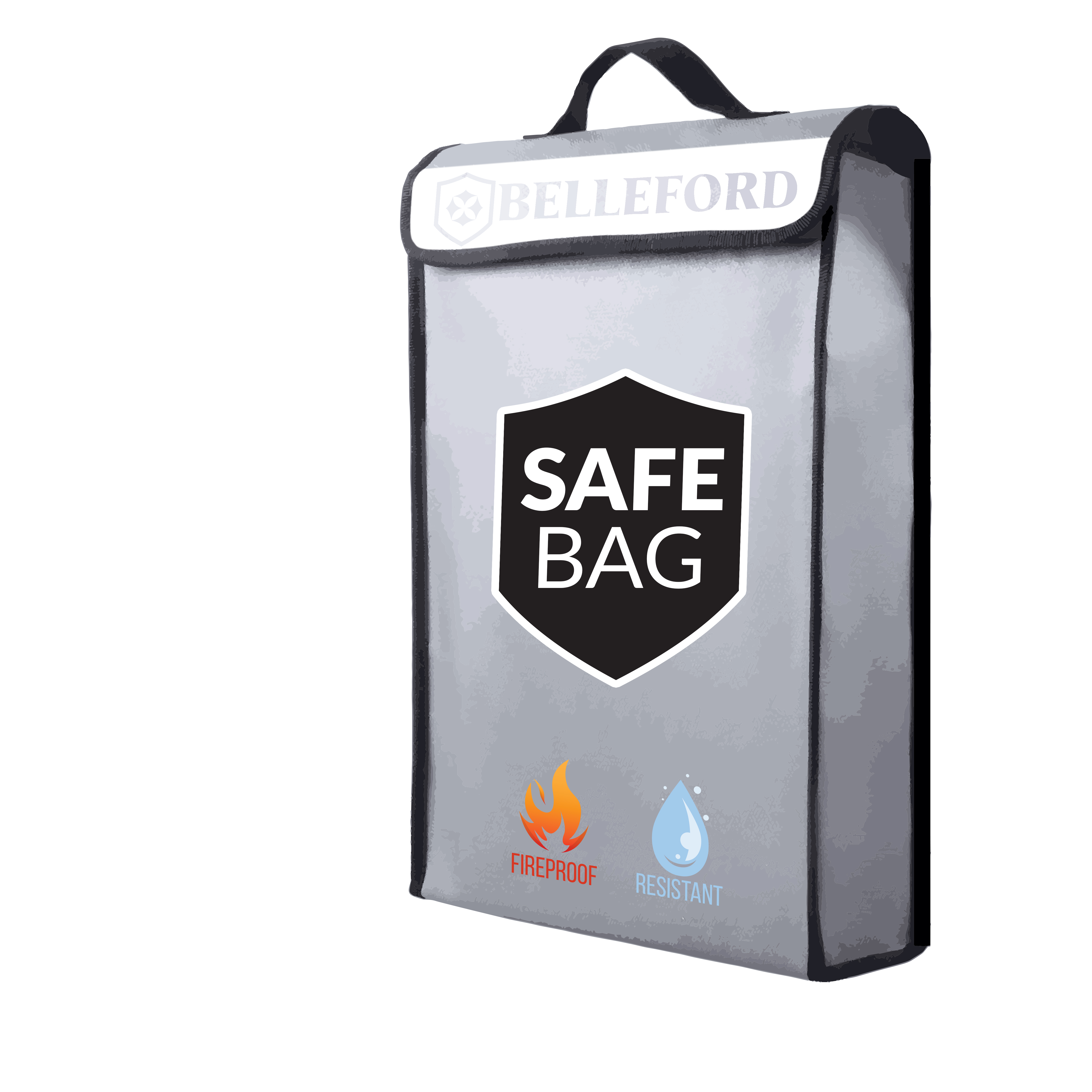 Safe bag for Money LiPo Battery Fire Resistant Document Bag for lpad,Cash,Documents.Jewelry and Passport