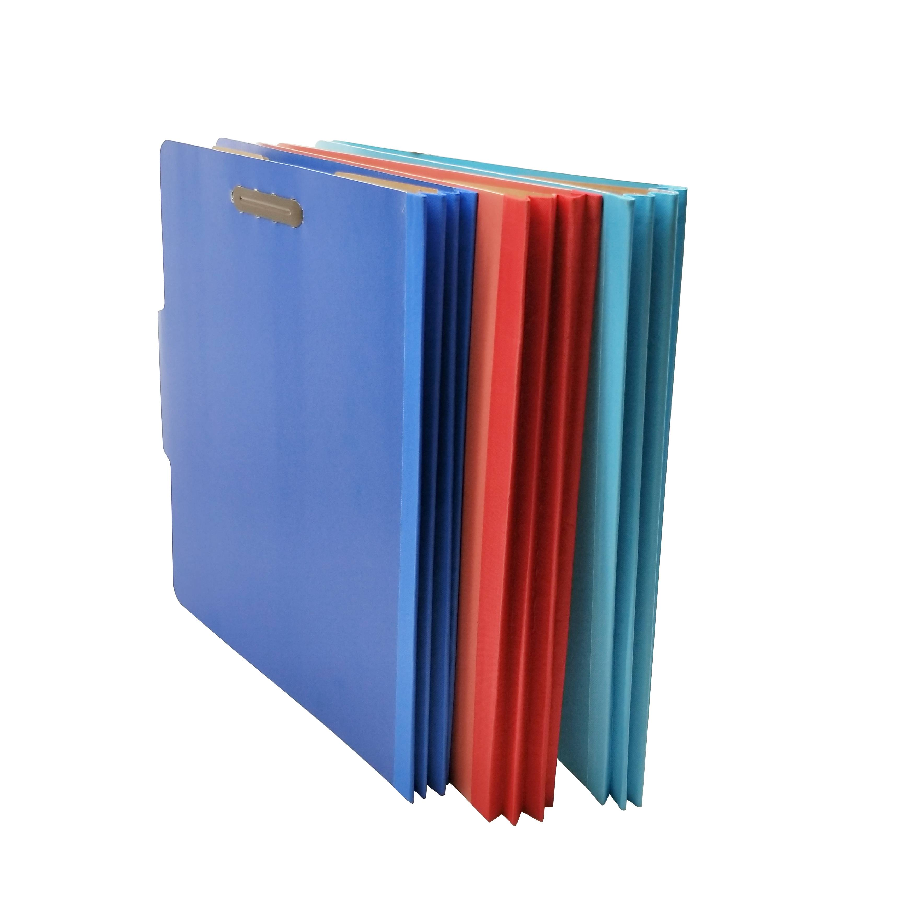 Letter Size Pressboard Fastener File Folders Designed to Organize Standard Medical Files, Office Reports