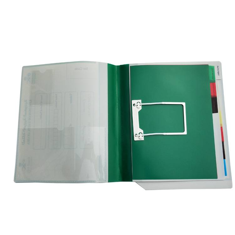Cheapest Price A4/FC/A5 Pockets Expanding File Folder - China Manufacturer Custom Wholesale Low Price PP Plastic A4 Medical Record File Folder Supplier For Arab Middle East – Ruiyinxiang