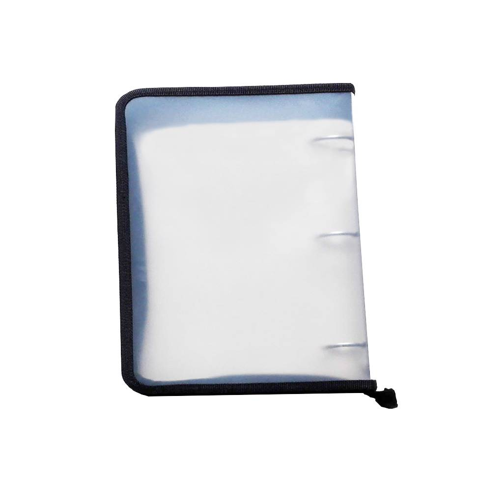 8 Year Exporter Ring Binder - School Office Clear PP 3 Ring Binder File Folder A4 Zipper Document Bag – Ruiyinxiang