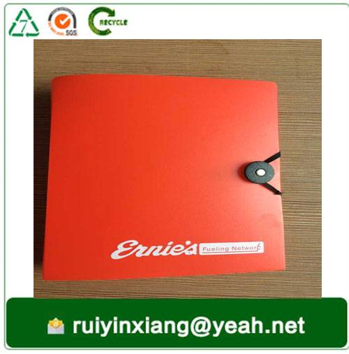 factory customized L Shape File Folders - PP decorative expanding file folder polypropylene hard plastic A3 A4 A5 size accordion file folder with logo – Ruiyinxiang