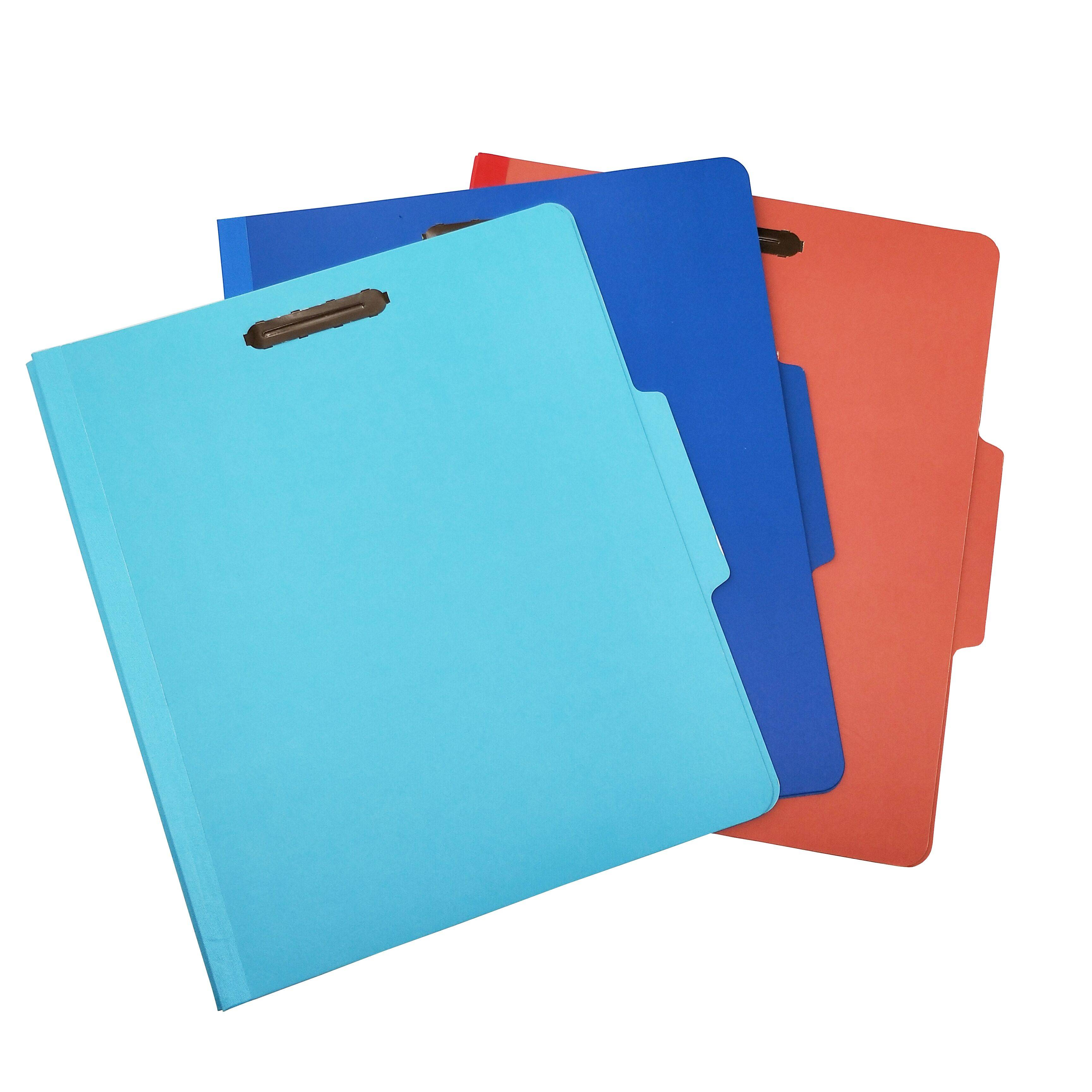 Wholesale Price China Expanding File Folder with Handle - Custom Pressboard Classification File Folder with 6 Fasteners 2 Dividers – Ruiyinxiang Featured Image