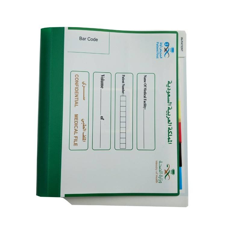 China Gold Supplier for PP Sheets from China - wholesale file folder a4 pocket  folder with logo printing – Ruiyinxiang Featured Image