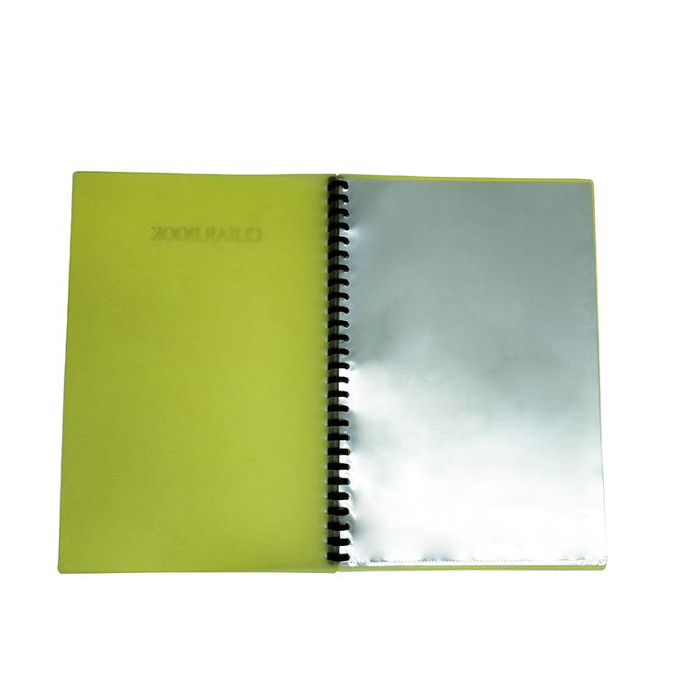 Hot New Products Plastic File Folder - 23 ring A4 F4 size clear book colorful sheet protector presentation book – Ruiyinxiang