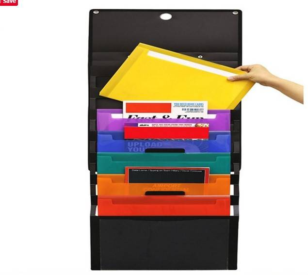 Factory Cheap Pocket Folders - Cascading Hanging Wall Expanding File Organizer – Ruiyinxiang