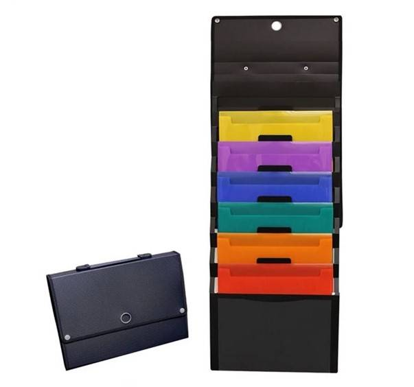 "One of Hottest for 10""x13""PVC Reusable Dry Erase Pockets - Cascading Hanging Wall Expanding File Organizer – Ruiyinxiang"