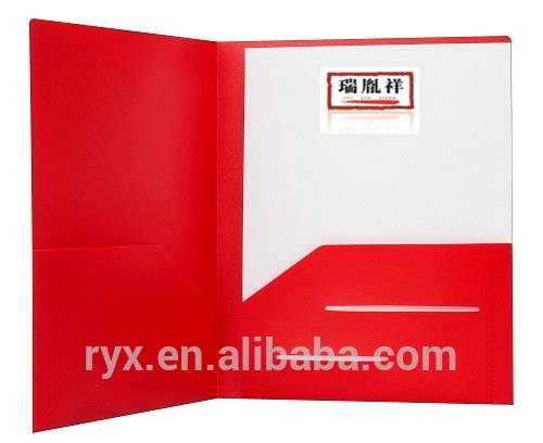 Factory Free sample A4 Kraft Paper Envelope Folders - Durable Heavy duty frosted laminated presentation folder – Ruiyinxiang