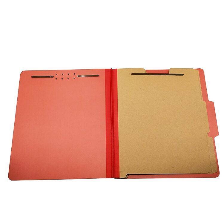 Professional China Classification File Folders - Pressboard Classification File Folder with Fasteners 2 Dividers – Ruiyinxiang