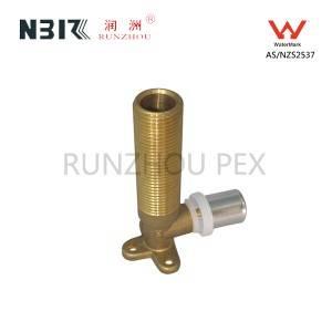 China Factory for Brass Compression Elbow Fitting -