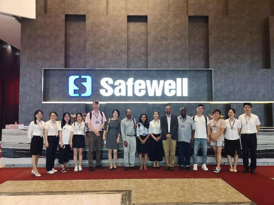 Warmly Welcome Africa Research Group visit Safewell