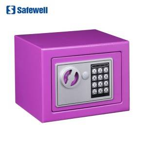 Safewell 17EF CE ROHS Approval Colorful Digital Home Money Mini Safe Box For Kids