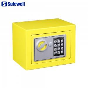 OEM/ODM Supplier Lce Led Electronic Safes - Safewell 17EF Mini Wall-in Style Digital Electronic Code Metal Steel Box Safe Case  – Safewell