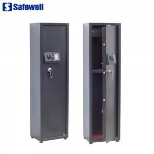 Safewell EA Series 5 Liberty gun holders Electronic Gun Safe