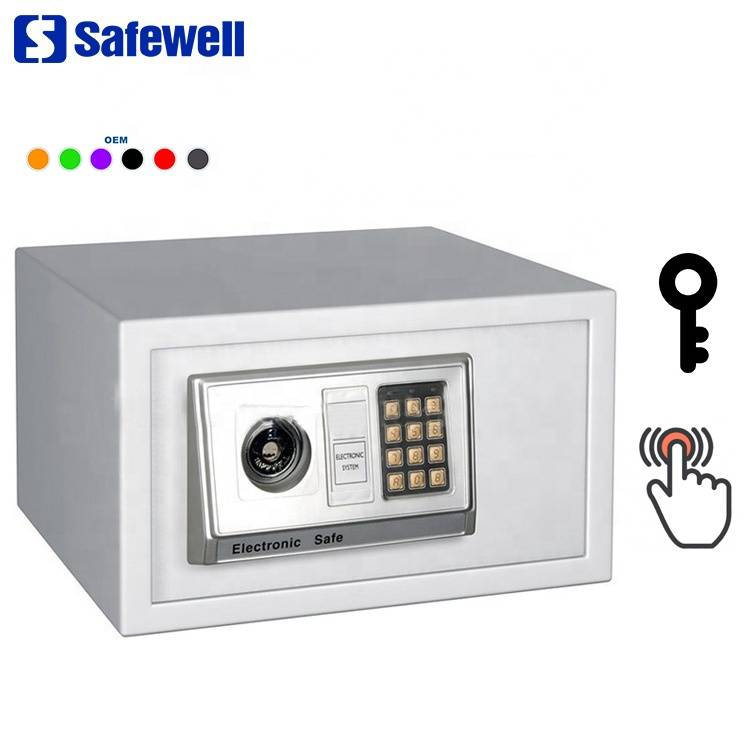 Reasonable price Metal Fireproof Fingerprint Safe  Box - Safewell 23EAK1530 Electronic Digital  pad Safe Box Cash Jewelry Gun Safe – Safewell