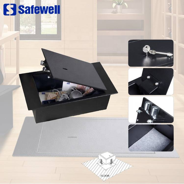 Factory For Office Hotel Use Big Safe Box - Safewell FS02 Mechanical Hidden top open Floor Safe box – Safewell
