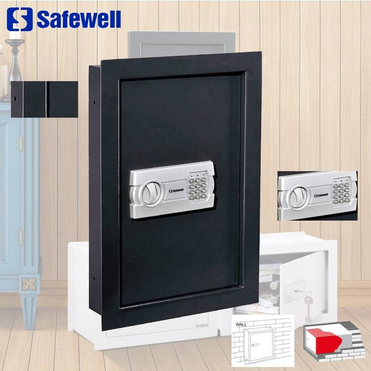Safewell WS-52EG Hidden Combination Mount Digital Electronic Lock Wall Mounted Safe Box