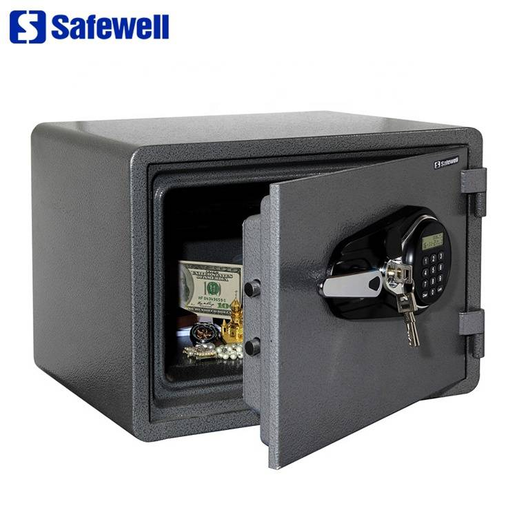 Factory Price Big Space Office Use Digital Iron Safe - Safewell YB350ALP LED fireproof key lock residence safe cabinet – Safewell