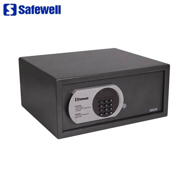 Personlized Products Drug Storage Safes - Safewell 195ZB 26 L LED Hotel Use Small Electronic  Digital Safe Deposit Box – Safewell