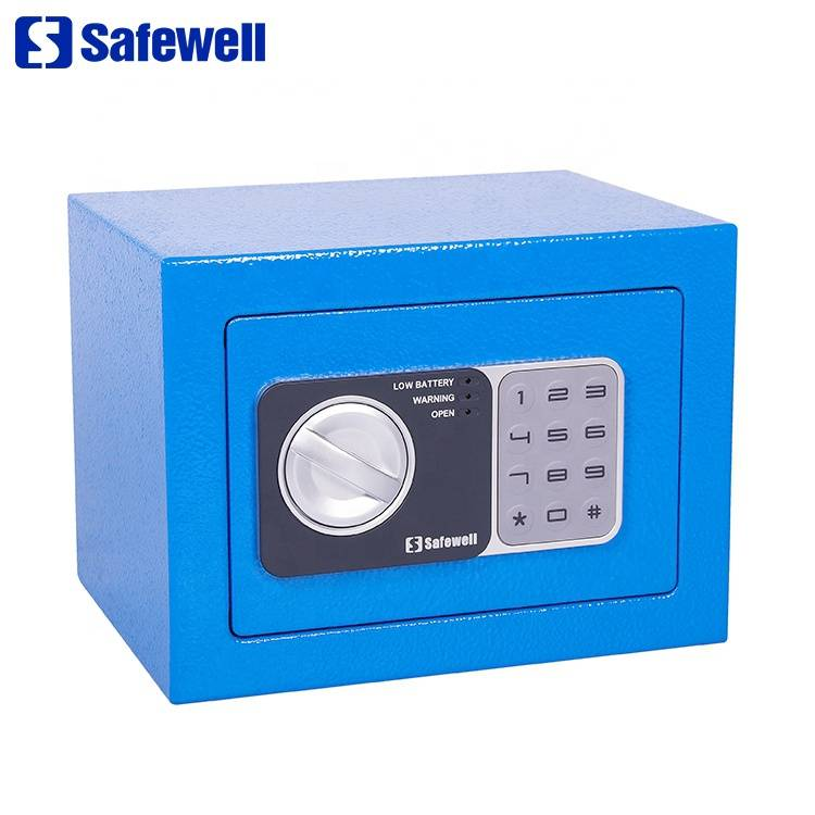 Safewell 17NEF 4.6 L color oem mini smart digital safe door