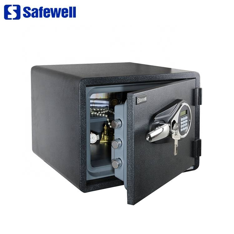 Factory making  Holder Metal Safe Box Cabinet In  - Safewell SWF1418E Hotel Digital Electronic Fireproof Safe Box Home – Safewell