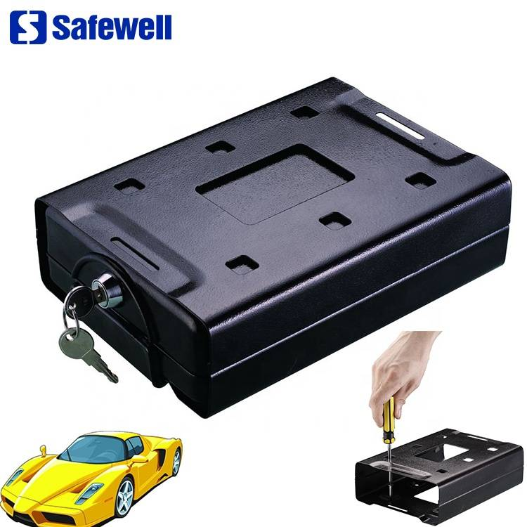 Wholesale Walmart Safe - Safewell CS220 Small Metal Safety Deposit Boxes Security Key Lock Box – Safewell
