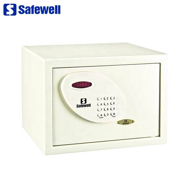 2017 High quality Hot Sale Mechanical Office Security Safes - Safewell 30RL LED hotel room electronic safe box er – Safewell