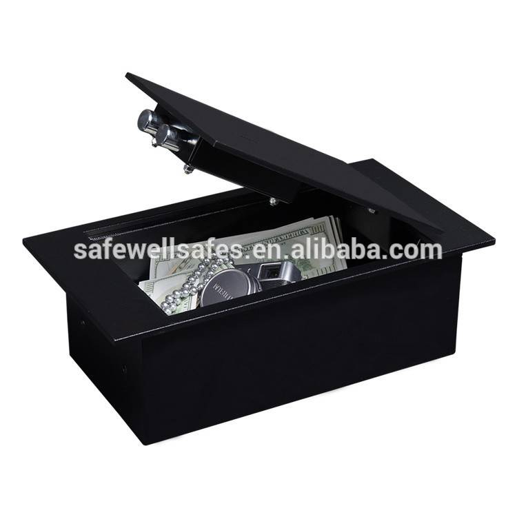 Short Lead Time for High Security Electronic Code Safe - Safewell FS02 Mechanical Hidden top open Floor Safe box – Safewell detail pictures