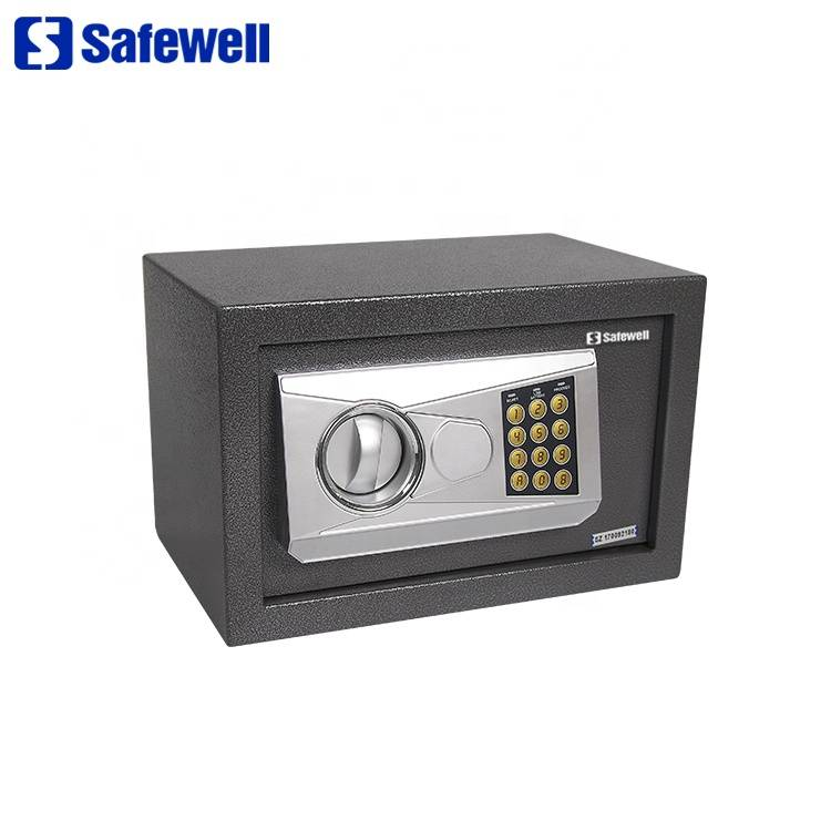 Manufacturer of Wall Safe - Cheap ce cash iron black digital  safe box – Safewell