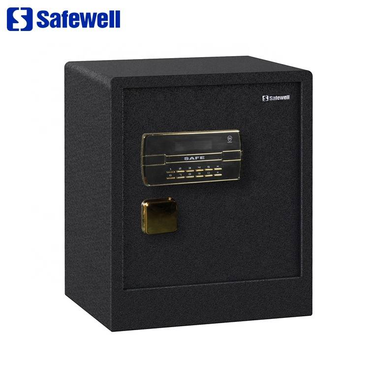 Discount Price Online Safes - Safewell 53BLK China Manufacturer Metal Digital Hidden All Steel Furniture Electronic Safe Box – Safewell