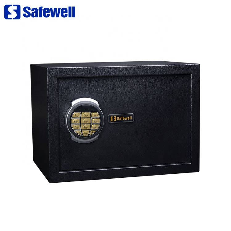Cheap price Security Metal Cash Box Safe - Safewell 25SO Digital Password Electronic Home Safe Deposit Box – Safewell