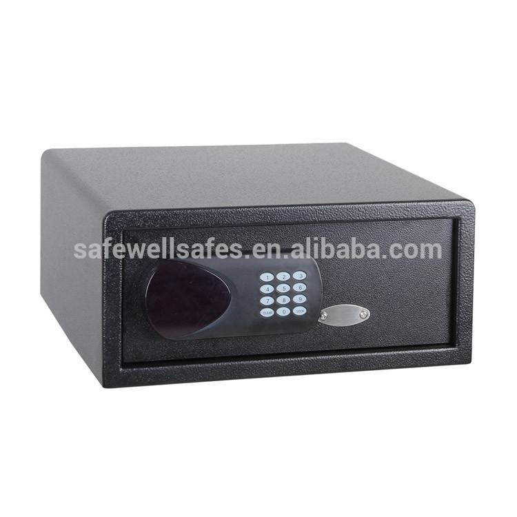 China Gold Supplier for Bank Use Mechanical Fire Resistant Safe Box - Safewell 195RG Digital Code Hotel Laptop Safe – Safewell