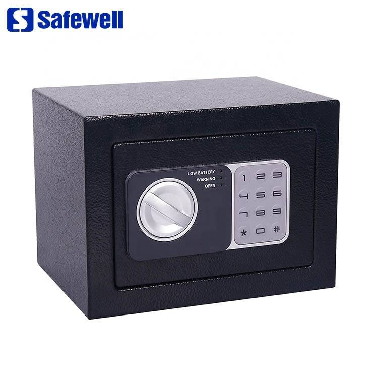 China OEM Mini Steel Portable Metal Cash  Box - Safewell 17NEF 4.6 L color oem mini smart digital safe door  – Safewell