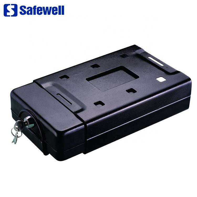 Wholesale Walmart Safe - Safewell CS220 Small Metal Safety Deposit Boxes Security Key Lock Box – Safewell detail pictures