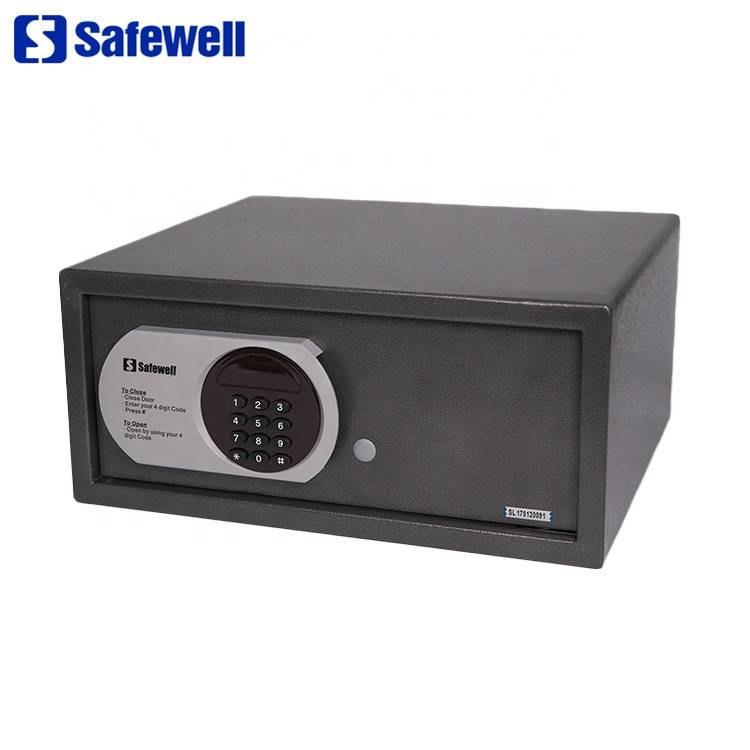 Factory wholesale Rf Card/Credit Card Safe Box - Safewell 195ZB LED  26 L Digital Electronic  Safe Box For Hotel – Safewell