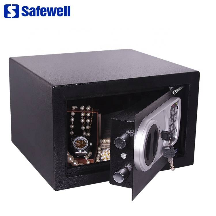 Factory For Safe Shop - Safewell 20SZ hot sale electronic key digital lock hotel safe box – Safewell