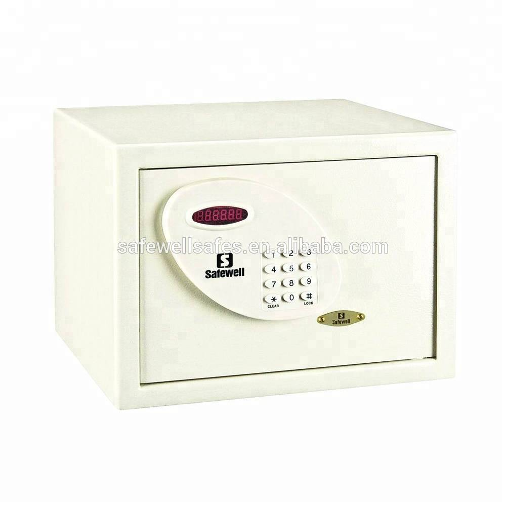 Wholesale Dealers of Office Use Fire Resistant Safe - Safewell 30RL Hotel Use Digital LCD display Safe er with swipe card function – Safewell
