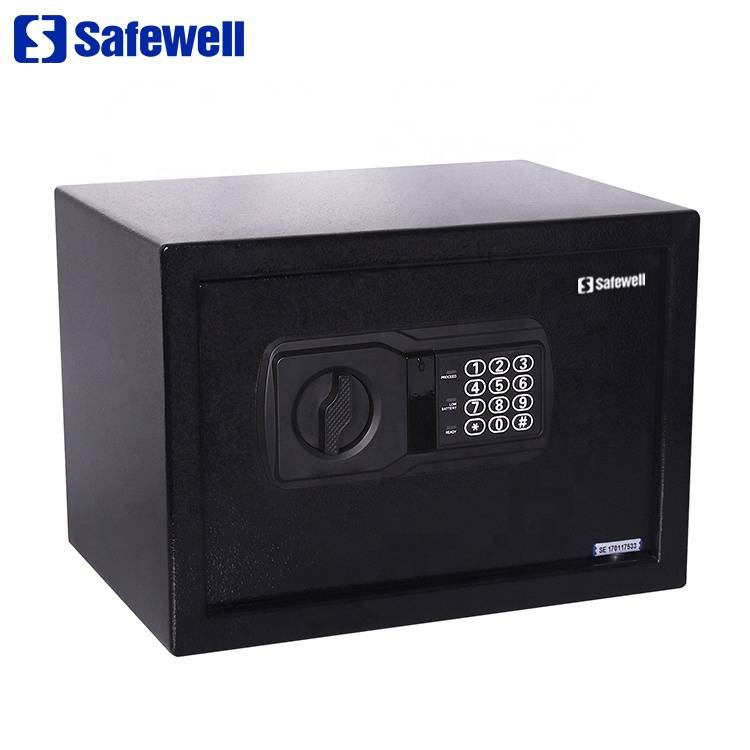 New Fashion Design for Rifle Safe - Safewell 25NEK mini electronic safe hotel  box – Safewell