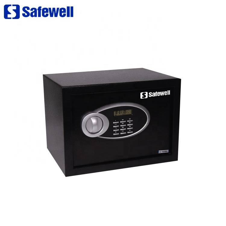 Safewell 30EUD mini excellent electronic lock manual security money safe box