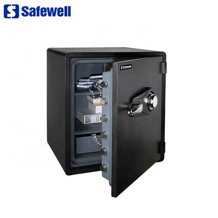 Excellent quality Electronic Digital Password Safe Box - Safewell SWF2420C big fireproof jewelry hotel room safe – Safewell