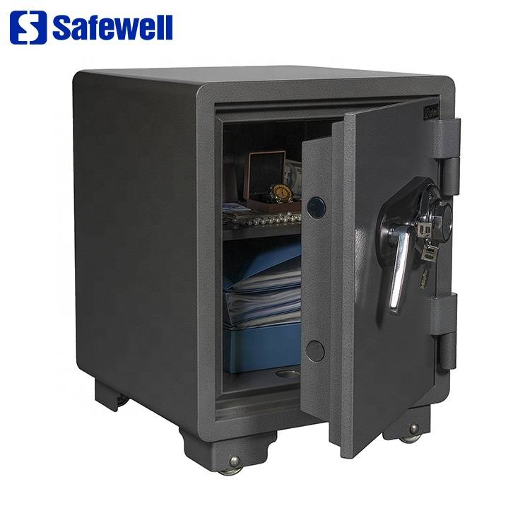 Leading Manufacturer for Home Use 2 Mechanical s Fire Safe - Safewell 530ALP Fireproof mechanical Stainless Steel Safes For Homes – Safewell detail pictures