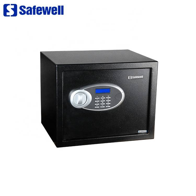 Discount wholesale Small Metal Cheap Fireproof Safe Box - Safewell 30EUD high security mini fireproof digital hotel electronic money safe box – Safewell