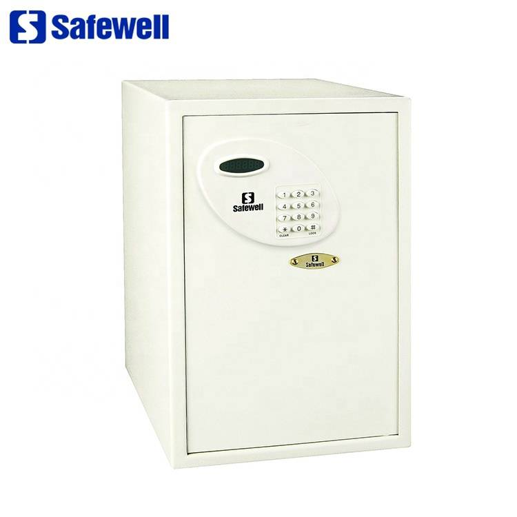 Wholesale Dealers of Steel Fingerprint  Fireproof Safes - Safewell 56RL LED electronic hotel safe box  – Safewell