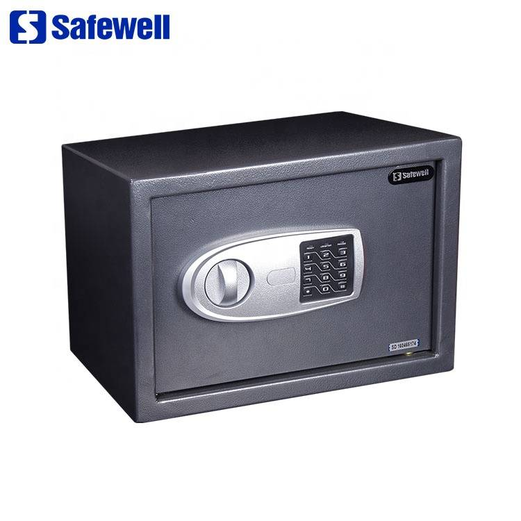 China Cheap price 36 Gun Safe - Safewell 25CM Excellent Intelligent Digital Security Electronic Safe Box – Safewell