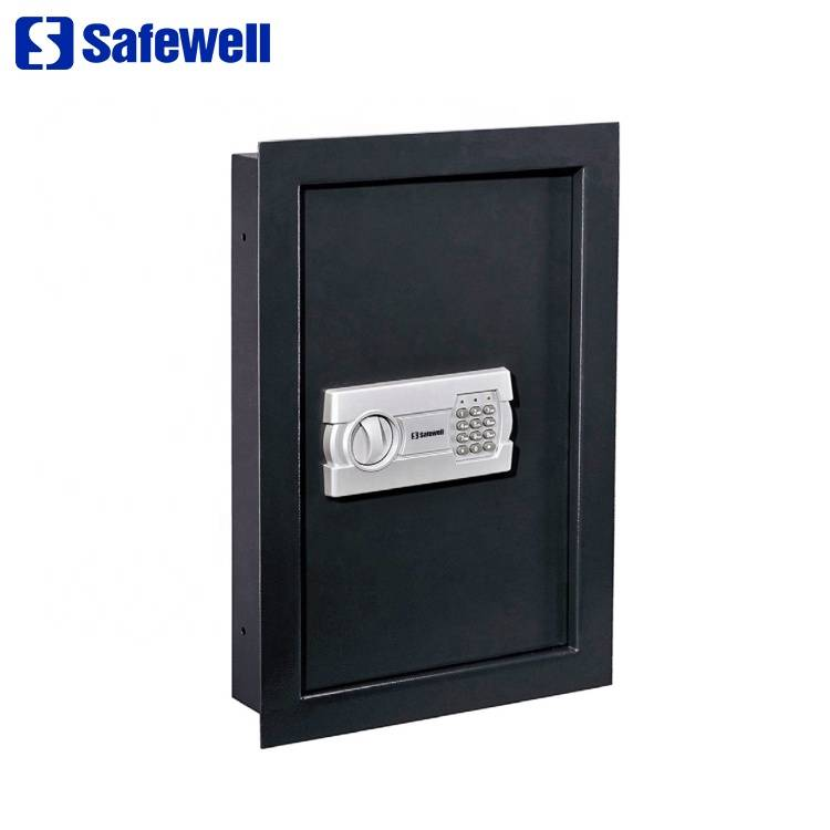 Factory wholesale Ningbo Tigerking Safe - Safewell WS-52EG Hidden Combination Mount Digital Electronic  Wall Mounted Safe Box – Safewell detail pictures