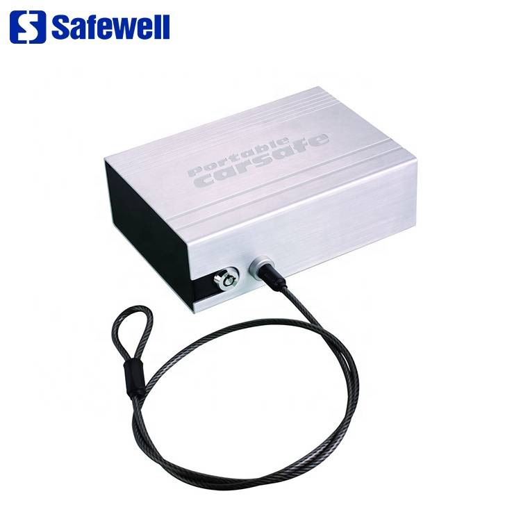 Super Purchasing for Biometric Fingerprint Safe For Office - Safewell CS119 High Quality Small Metal Steel Car Use Safe Box – Safewell